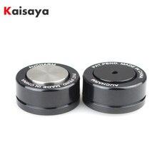 4 adet HIFI Ses Hoparlör Amplifikatör Seramik boncuk Çelik topu Kaydırma Anti amortisör Ayak Ayak Tırnak Pad Titreşim taban T0904
