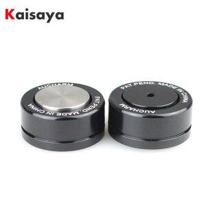 Image 1 - 4pcs HIFI Speaker Amplificador de Áudio de Cerâmica esferas de Aço bola Rolar Anti shock Absorber Pé Pés Prego Almofada de Vibração base T0904