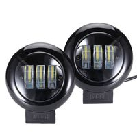 6D Lens 5 Inch Round Square Led Work Light 12V For Car SUV Trucks 4x4 Offroad Motorcycle Auto Working Driving Lights Light Bar/Work Light     -