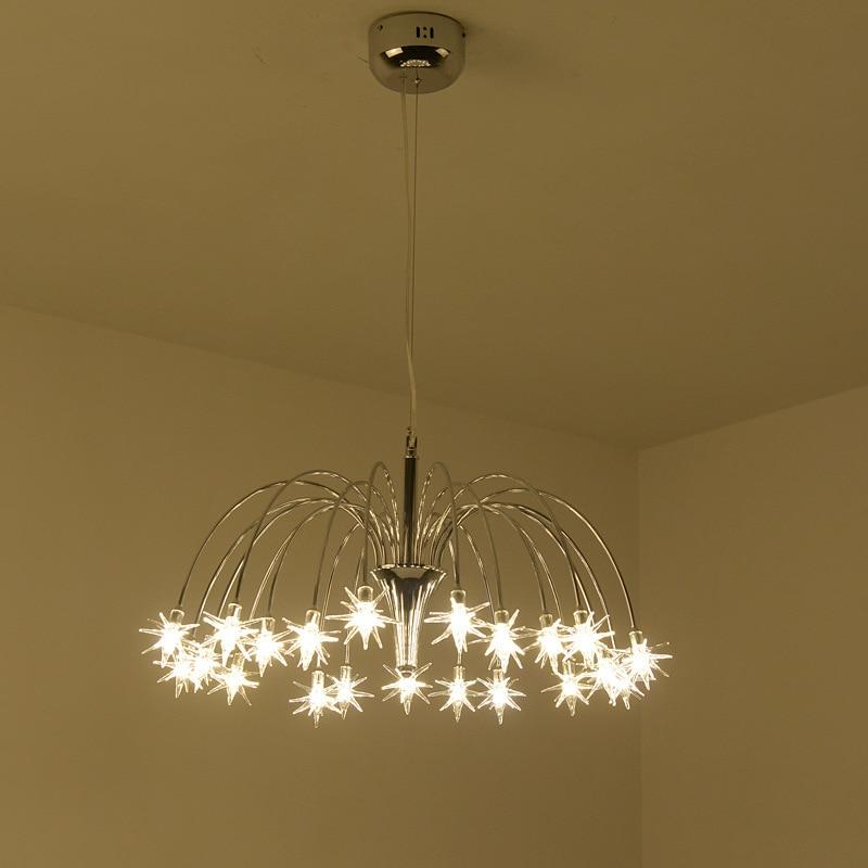 Nordic Deco Maison Luminaria Iron LED  Pendant Lights  Luminaire Suspendu