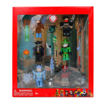ROBLOX Action Figure Emerald Master Series Set 7cm PVC Suite Dolls Boys Toys Model Figurines Collection Gifts for Kids sonny angel baby animal pvc action figures marine ocean life candy series kewpie model figurines collectible dolls kids toys