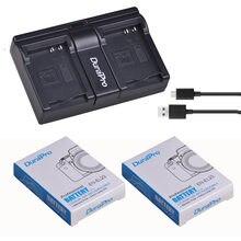 Batterie Li-ion Rechargeable 3.8V 1850mAh + double chargeur USB, pour appareil photo numérique Nikon COOLPIX P900 P610 P600 B700