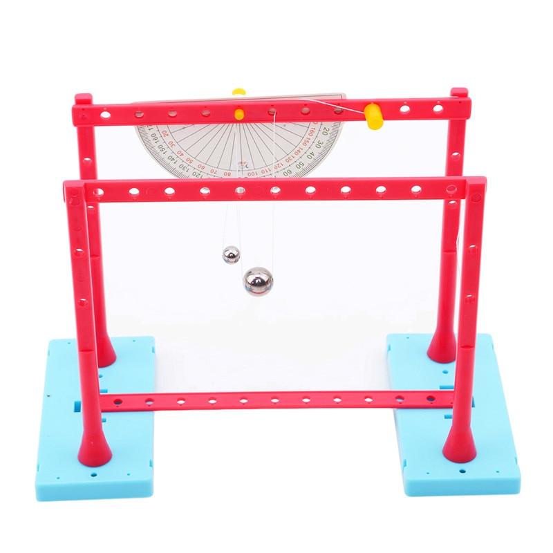 Пластиковая детская развивающая игрушка, простой маятниковый тест, эксперимент, физика, обучающее средство, ручной эксперимент, сборный