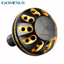 Gomexus pomo de potencia para MANGO de carrete, para Shimano Stradic FK CI4 Sahara Direct Daiwa Freams BG Penn Spinfisher 1000 4000, taladro de 38mm