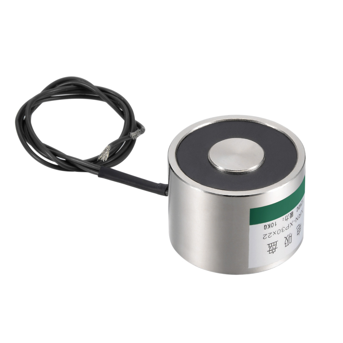 Uxcell 30mm X 22mm DC24V 100N Sucking Disc Solenoid Lift Holding Electromagnet