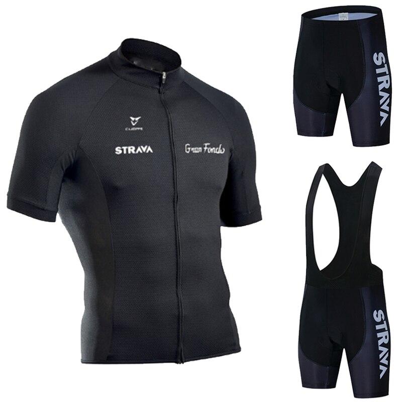 Biking Set Men/'s Long Sleeve Cycling Jersey /& Bib Shorts Riding Bike Sportwear