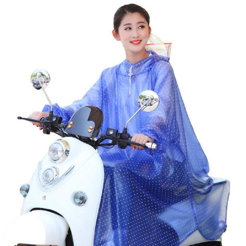 Portable Motorcycle Raincoat Pants Set Outdoors Men Raincoat Waterproof Thick Impermeable Chubasquero Hombre Rain Gear OO50YY