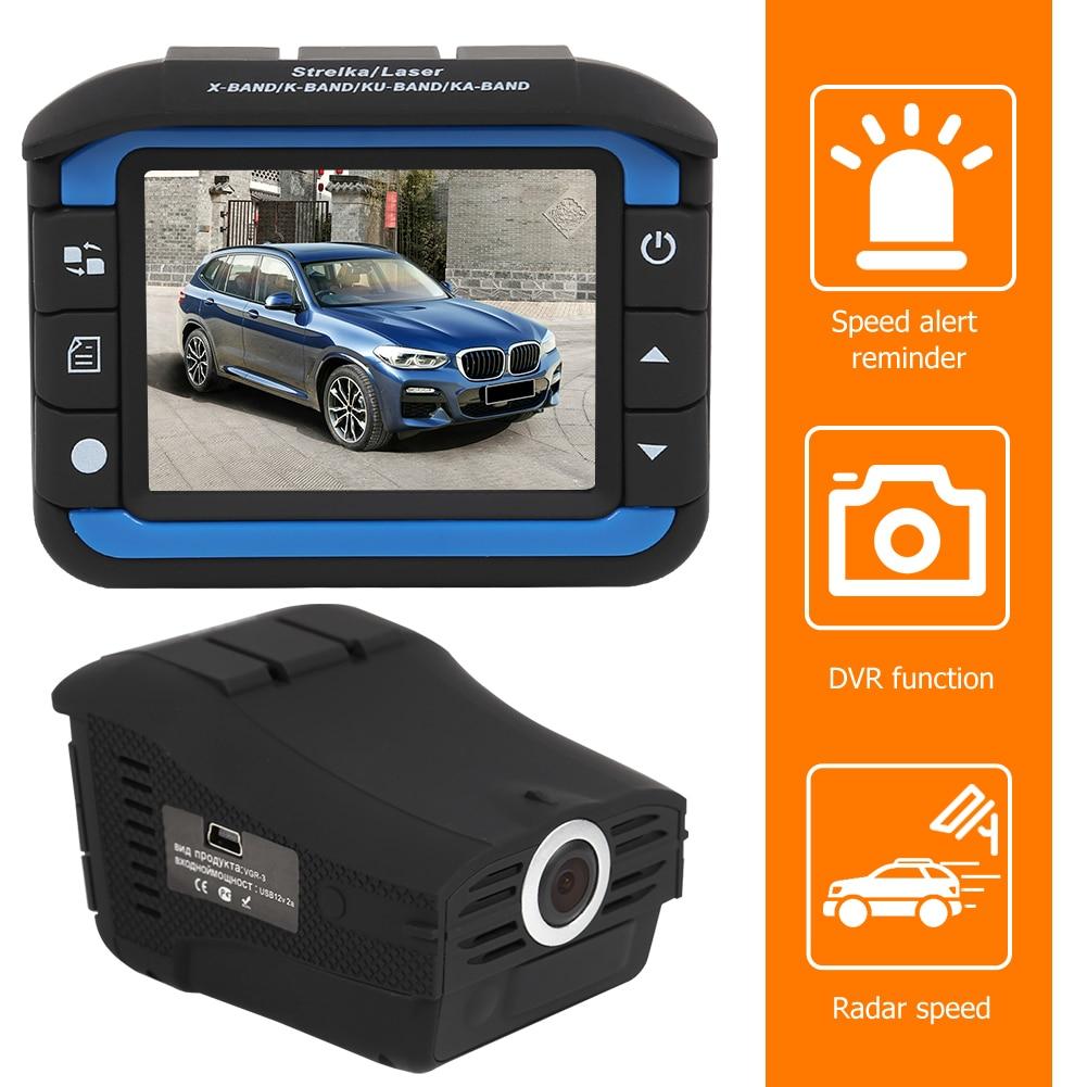 Автомобильный видеорегистратор 2 в 1, с антирадаром и голосовым управлением на английском и русском языках, VG3, 720P, HD, видеорегистратор, камер...