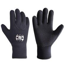 3mm Diving Gloves Winter Swimming Gloves Warm Neoprene Men Women Surfing Spearfishing Snorkeling Boating Fishermen Dive Gloves