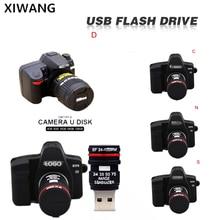 usb flash drive 32gb memory stick 128gb Cartoon SLR camera  pen 64gb 8gb 4gb u disk high speed USB 2.0 pendrive gift