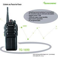 Walkie-Talkies Radio Communicador HF Transceiver Quansheng TG-1690 UHF Or VHF Portable Wireless Radio Intercom Handheld 10W CB