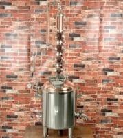 "Moonshine still  80l steam jacket copper boiler  and 4""  Copper Column for distillation  Copper bubble plates   Moonshine|Distillers| |  -"