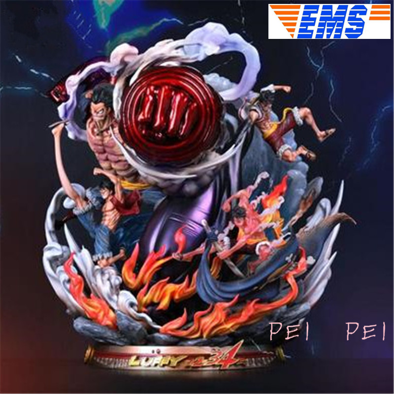 Statue One Piece Straw Hat Pirates Monkey D Luffy Four Forms
