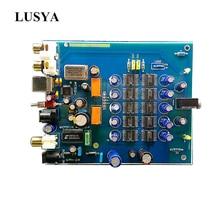 Lusya HIFI TDA1543*8 Decoder USB fiber coaxial DAC decoder board OTG  for hifi finished board T0758