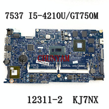 Mainboard Inspiron I5-4210U Dell 2G GT750M FOR 7537 Laptop Doh50/12311-2/Kj7nx/..