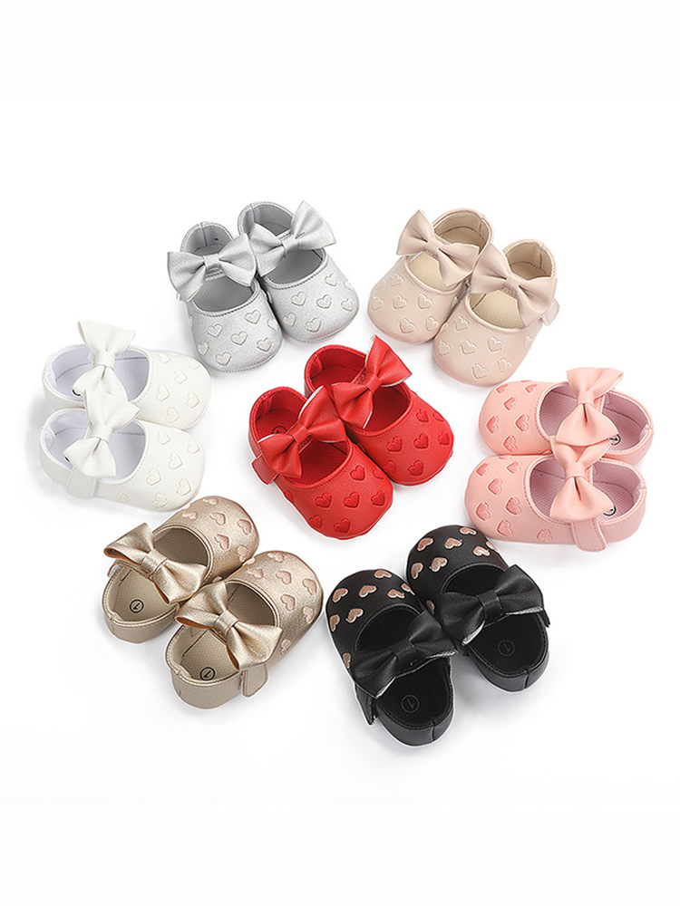 Baby Moccasins Shoes Footwear Soft-Soled Non-Slip Baby-Boy-Girl PU Bow-Fringe