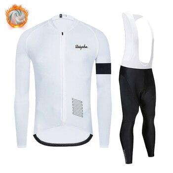 Raphaful-Conjunto de Jersey de Ciclismo para equipo profesional de invierno Ropa de...