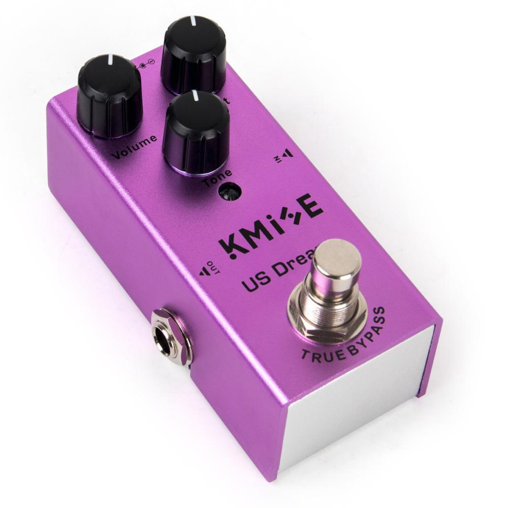 Kmise Guitar Effects Pedal Distortion Mini Single US Dream DC 9V True Bypass For Electric Guitar