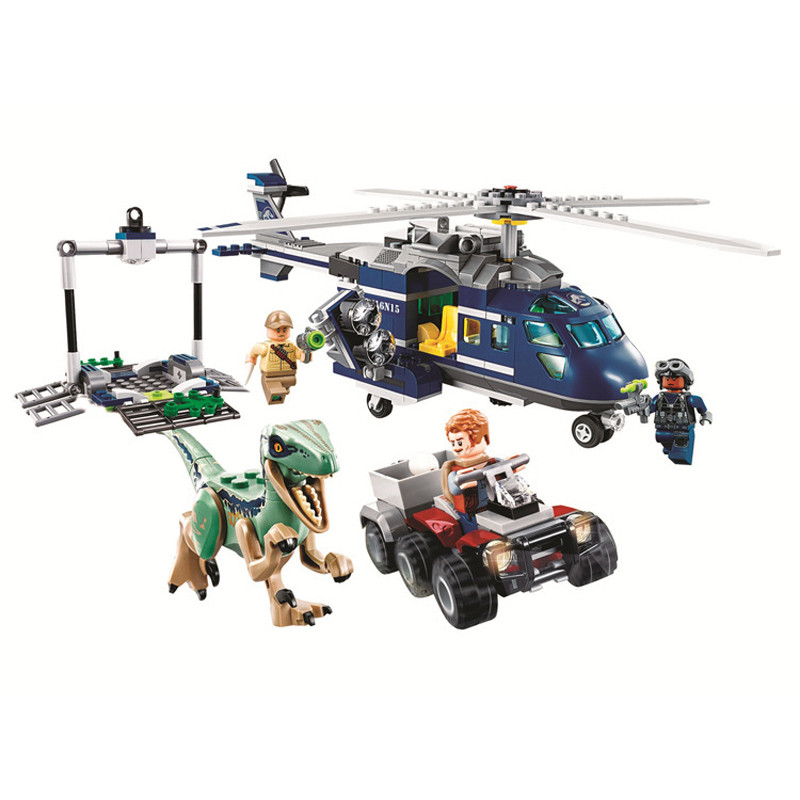 New Jurassic World Dinosaur Set With 10925 10926 10928 Model Building Blocks Bricks With Toy Gift For Children No Box