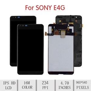 """Image 2 - 4.7 """"מסך עבור SONY Xperia E4G LCD מסך מגע Digitizer עצרת עבור Sony E4G תצוגה עם החלפת מסגרת E2003 e2006 E2033"""