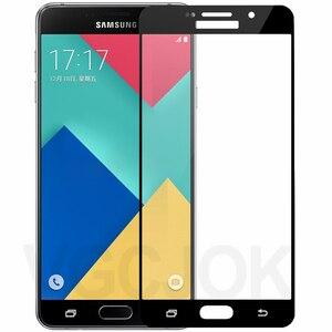 15D Защитное стекло для Samsung Galaxy S7 A3 A5 A7 2017 J3 J5 J7 2016 2017 версия закаленное защитное стекло для экрана