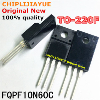 10PCS FQPF10N60C TO220F FQPF10N60 10N60 10N60C TO-220F TO220 new and original IC Chipset - discount item  10% OFF Active Components