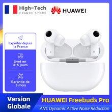 Nouvelle Version mondiale HUAWEI Freebuds Pro écouteurs intelligents Qi Charge sans fil ANC fonction d'annulation de bruit pour Mate 40 Pro P30 Pro