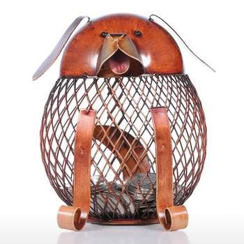 Figurki zwierząt skarbonka Handmade praktyczne metalowe rękodzieło dekoracja wnętrz nowoczesny styl akcesoria do dekoracji wnętrz prezenty świąteczne tanie i dobre opinie Owalne coin bank