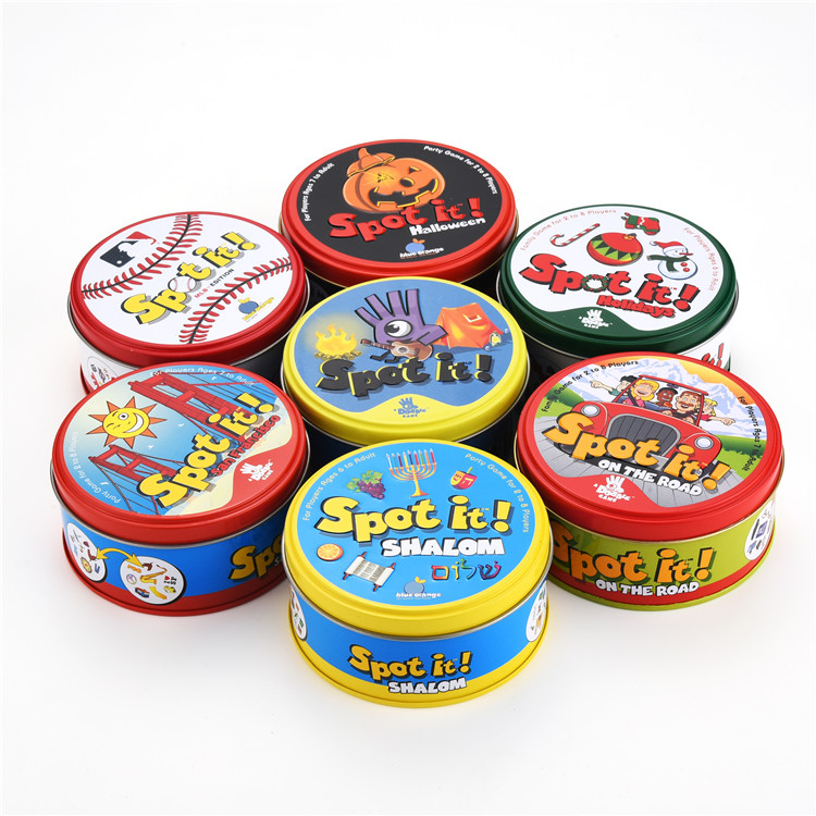 Spot It Game For Kids Children Over 5 Years Old Suitable For 2-5 PlayersChildren Boy Girl Educational Toys Board Game Cards Toy