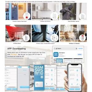 Image 4 - ALARMEST sistema de alarma de seguridad inalámbrico para el hogar, sistema de alarma de seguridad GSM, Control remoto, Autodial, IOS, aplicación Android