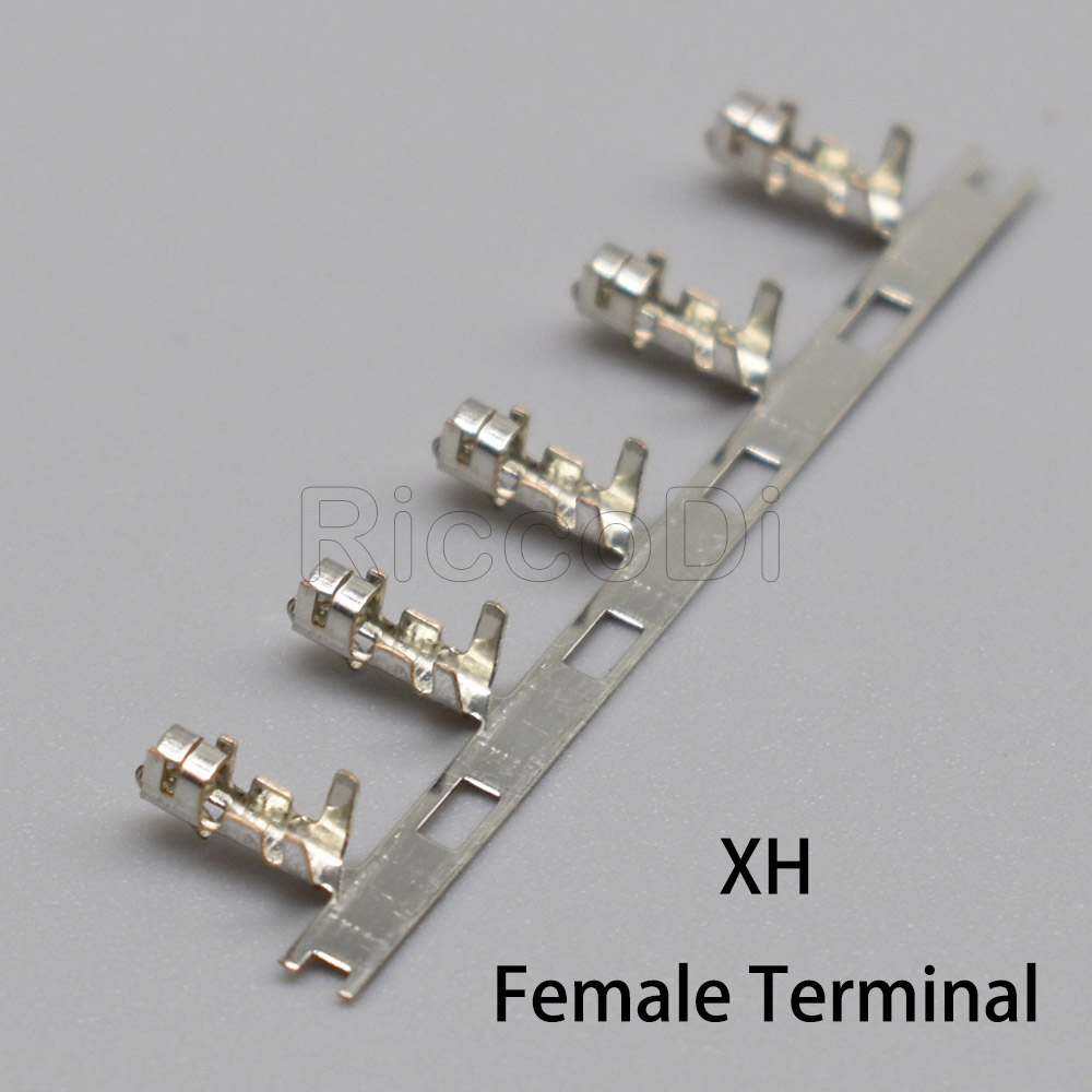XH2.54mm Phos Bronze Crimps Terminal Connector Female Plug Terminals Reed