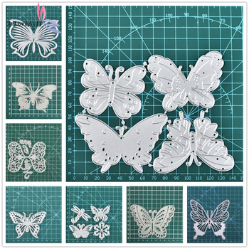 InLoveArts Butterfly Metal Cutting Dies for DIY Scrapbooking Album Paper Cards Decorative Crafts Embossing Butterflies Die Cuts inlovearts butterfly metal cutting dies for diy scrapbooking album paper cards decorative crafts embossing butterflies die cuts