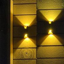 Joollysun Waterproof IP65 Outdoor Wall Light 10W Decoration Outdoor Lighting Porch Light Modern LED Wall Lights For Commercial