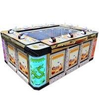 8 игроков рыболовная игра машина билетов выкупа азартные игры стол слот казино игры рыба стрельба игровой шкаф аркадная машина