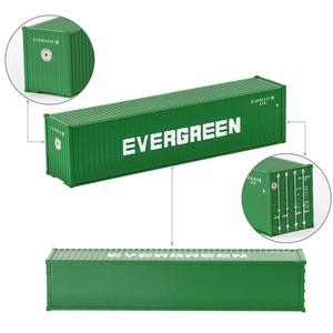 Image 3 - 10 шт 40 футовые контейнеры 1:150 контейнер для перевозки с магнитом грузовой автомобиль N Масштаб модели поезда Лот C15008 железнодорожное моделирование