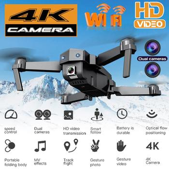 цена на SG107 4K 1080P HD Camera Mini Drone 4K Optical Flow Dual Cameras 50X Zoom RC Quadcopter RTF Foldable Quadcopter Aircraft