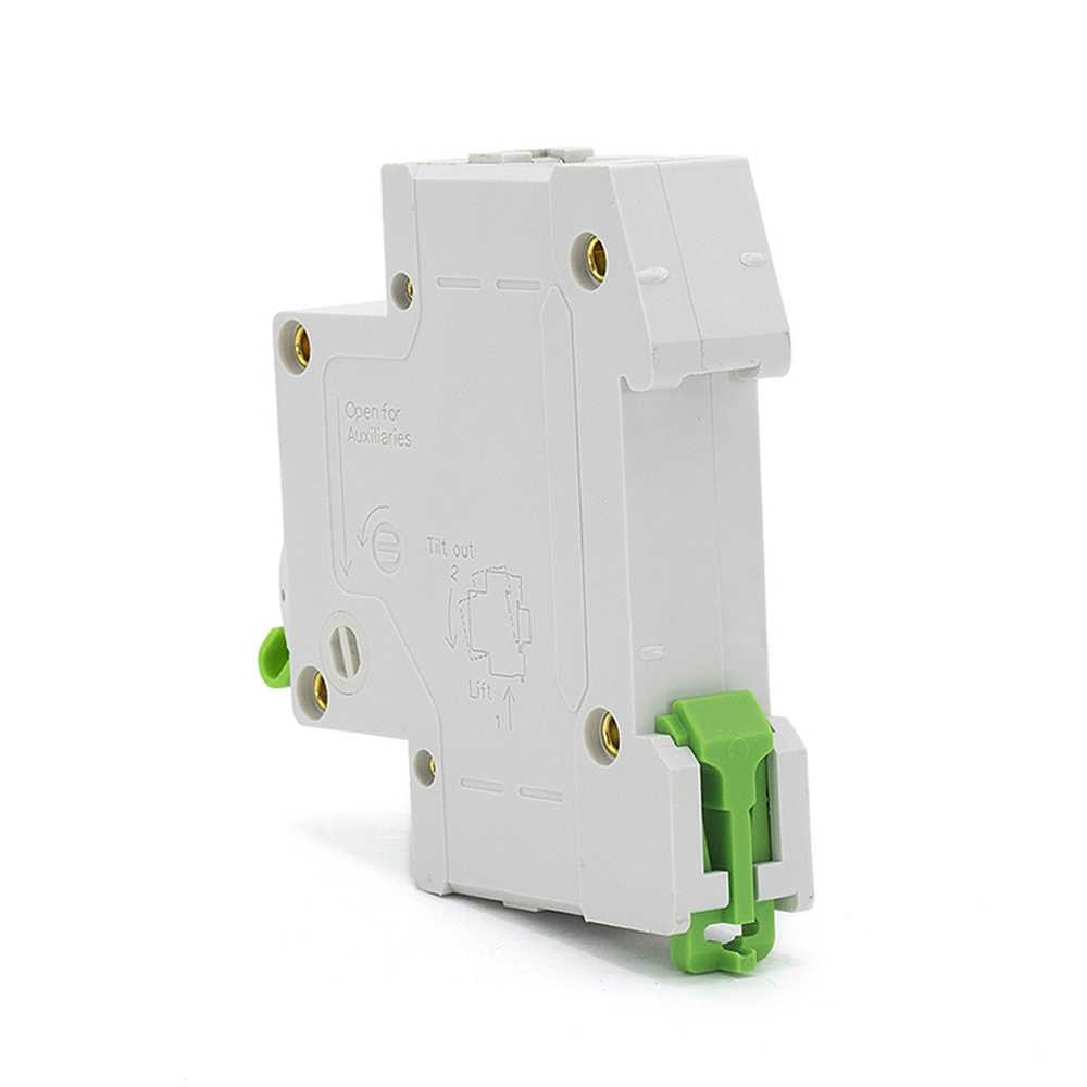 Curve B Type 1 Pole 1A 6A 10A 16A 25A 32A 40A 63A MCB 18mm Mini Circuit Breaker 4.5KA AC 110V/230V/400V With CE Certificate