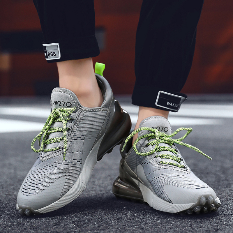 2019 Spring New Hot Unisex Sneakers Man Running Shoes Men For Adults Trainers Lace-up Outdoors Athletic Comfortable Sport Shoes