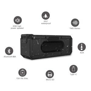 Image 3 - 40W 5.0 Bluetooth רמקול IP7X עמיד למים נייד טור רמקול סופר בס סאב 2.1 Soundbar קול מערכת מוסיקה Boombox
