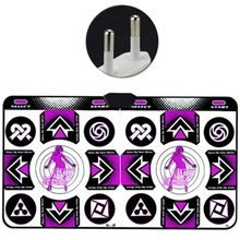 PVC Dance Mat Double Players Anti Slip With Wireless Receiver Remote Controller 77HA