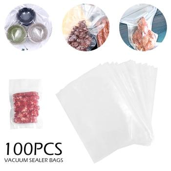 Sacs Sous Vide pour scelleur Sous Vide Film de stockage des aliments sacs d'étanchéité Sous Vide 100/lot appareil de cuisine Sous Vide sacs d'emballage