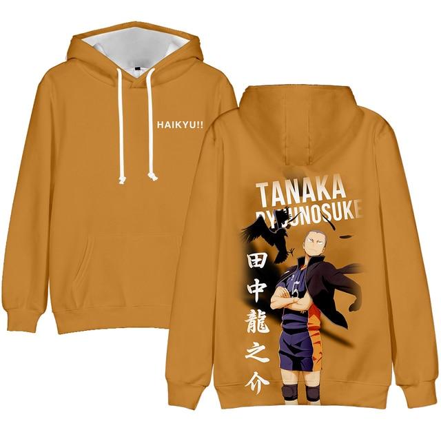 3D Printed Haikyuu Hoodies Sweatshirts Men Women Fashion Hip Hop 3D Comic Haikyuu Kids Hoodie Boys Girls Autumn Pullovers