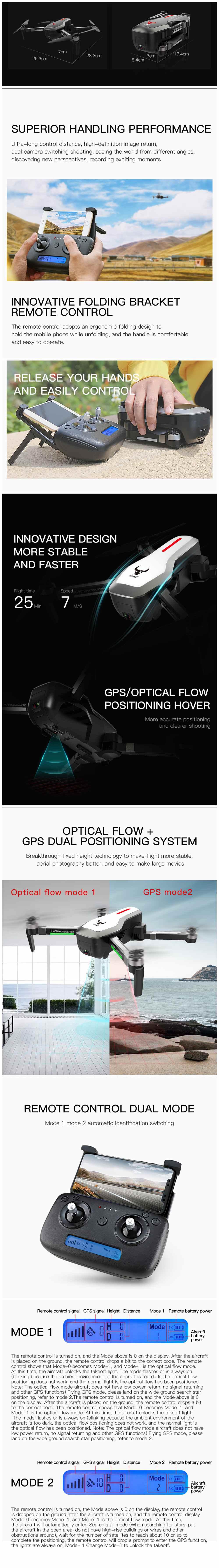 Dual GPS Drone 5G Quadcopter 3