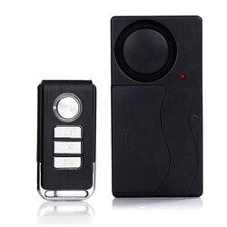 Nowy bezprzewodowy pilot zdalnego sterowania drzwi czujnik alarmowy wejście do okna drzwi bezpieczeństwa hosta włamywacz System alarmowy w domu zestaw ochrony