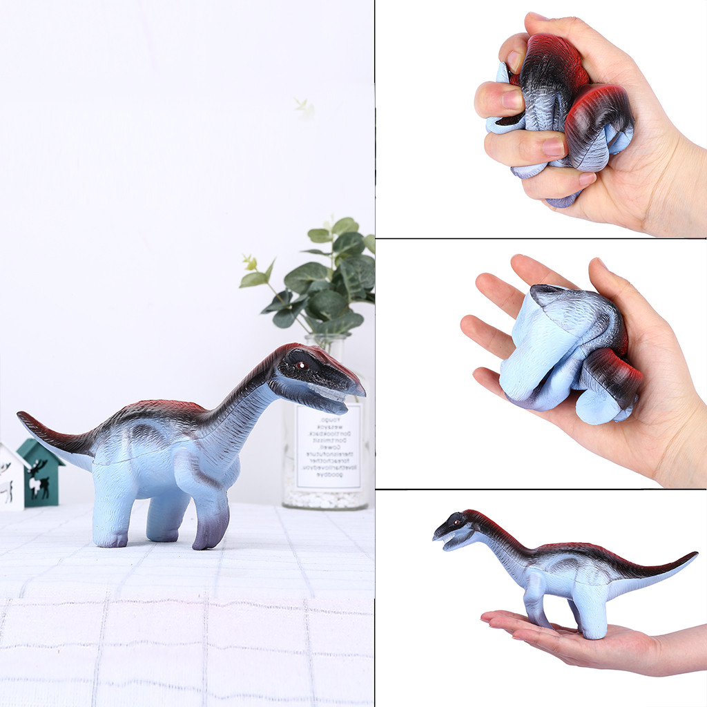 Squishy Antistress Zoo World Realistic Dinosaur Figure Slow Rising Stress Reliever Toy Funny Children Toys W827
