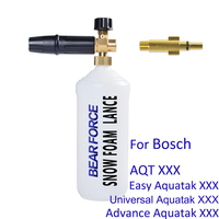 High Pressure Soap Foamer Snow Foam Bottle Shampoo Sprayer Snow Foam Lance for Bosch AQT Aquatak Car Washer Pressure Washer