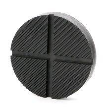 Universal piso jack disco almofada de borracha adaptador pitada solda lado jack almofada 12.5cm x1