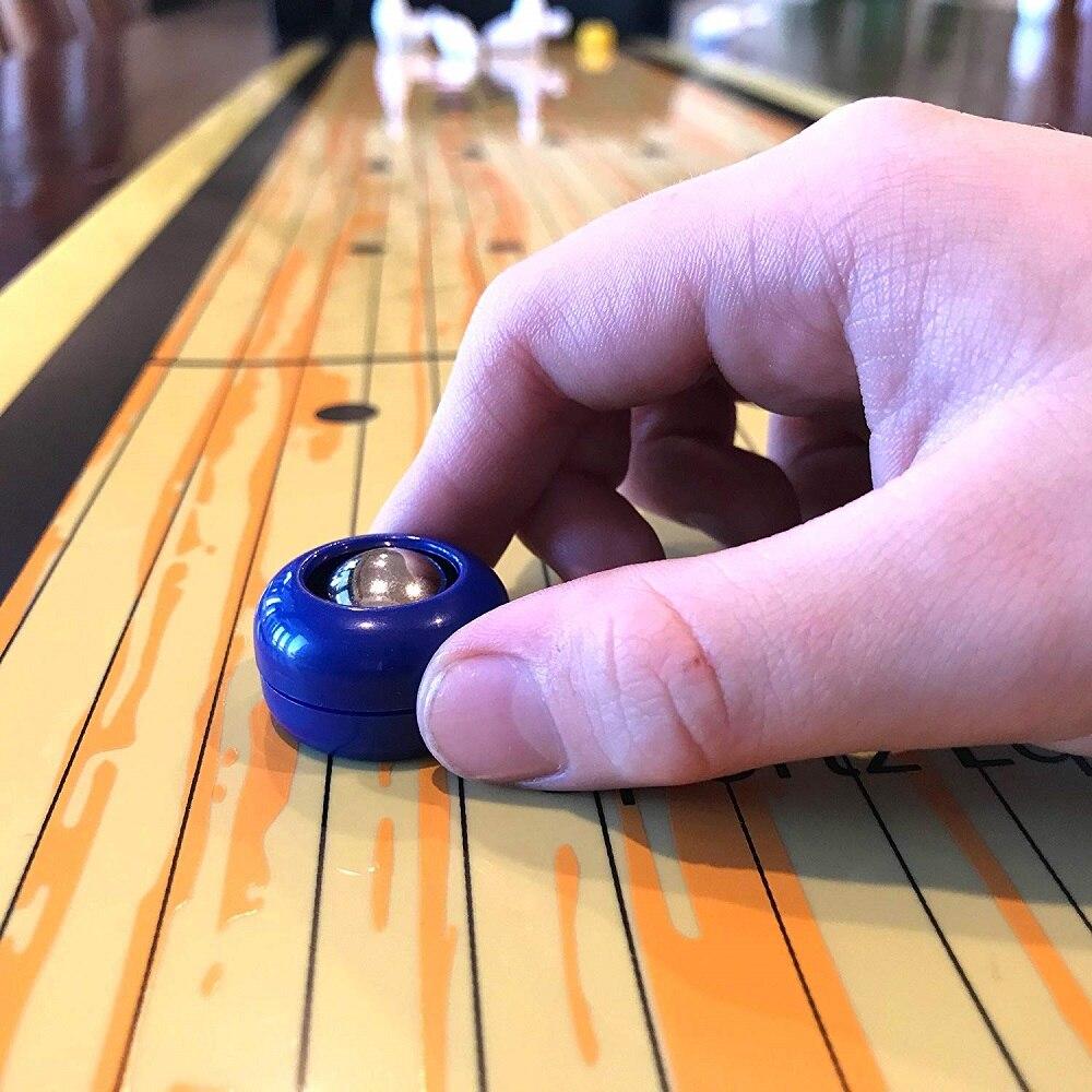 Kinder pädagogisches Tischspiel Curling Ball Bowling Indoor Freizeitspielzeug