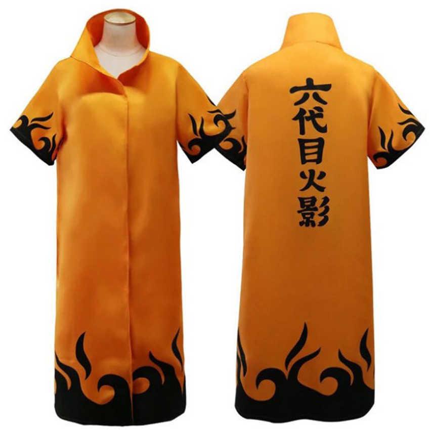 Kostum Cosplay Naruto Anime Jepang Jubah untuk Pria Halloween Karnaval Bermain Peran Akatsuki Hokage Seragam Uchiha Itachi Cape