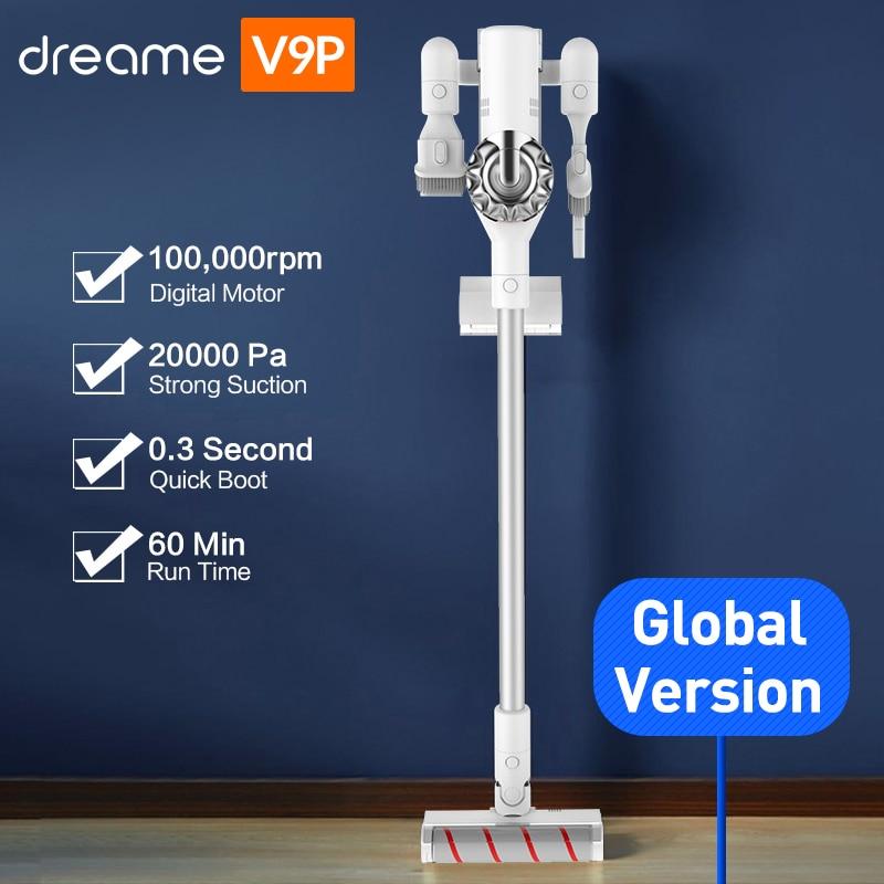 Dreame V9P Handheld Ciclone Aspirador Sem Fio Sem Fio Protable 120AW Forte Tapete De Sucção do Coletor de Poeira para xiaomi